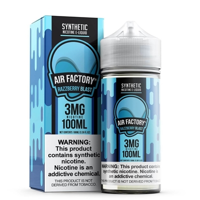 Blue Razz by Air Factory E-Liquid 100mL $13.99 E-Liquid - EJuice Connect
