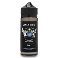 Blueberry Duchess Reserve by King's Crest - 120mL $21.99 - EJuice Connect
