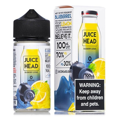 Juice Head Blueberry Lemon E-Liquid - 100mL - $9.99 - E Juice Connect