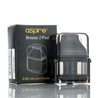 Aspire Breeze 2 Replacement Pod - 1 Pk - $7.99  -  EJuice Connect