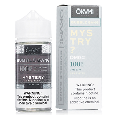 Bubble Gang Mystery E Liquid by Okami - 100ml $10.99 - EJuice Connect