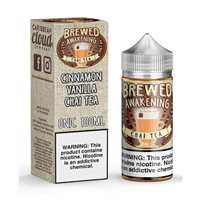Brewed Awakening Chai Tea Caribbean Cloud Company - 100ml $10.99 - EJuice Connect