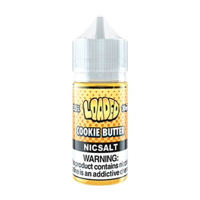 Cookie Butter by Loaded Nic Salt - 30ml - $9.99 Low Price - EJuice Connect