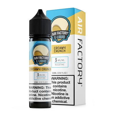 Creamy Crunch by Air Factory E-Liquid 60mL $11.95 - EJuice Connect