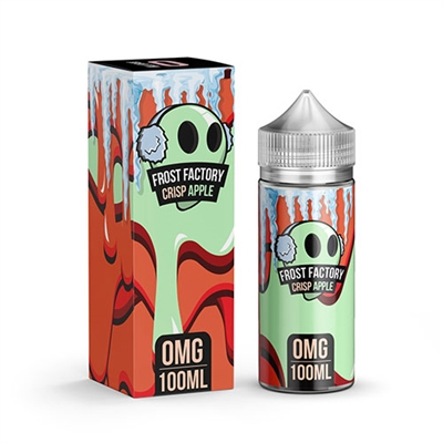 Crisp Apple by Frost Factory E-Liquid 100mL $13.95 Vape - EJuice Connect