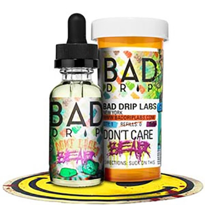 Don't Care Bear by Bad Drip - 60ml $9.99 - Top Selling Vape Juice - EJuice Connect