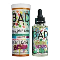 Don't Care Bear Iced Out by Bad Drip - 60ml  Only $9.99 - EJuice Connect