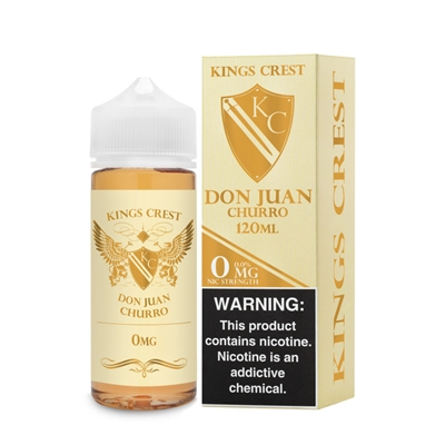 Don Juan Churrio by King's Crest  - 120mL - $10.99 Lowest Price - EJuice Connect