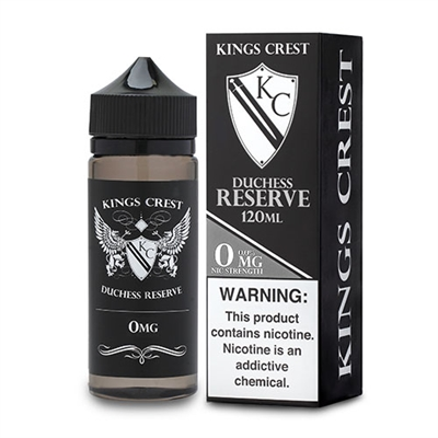 Duchess Reserve by King's Crest 120mL Vape Liquid $21.99 - EJuice Connect
