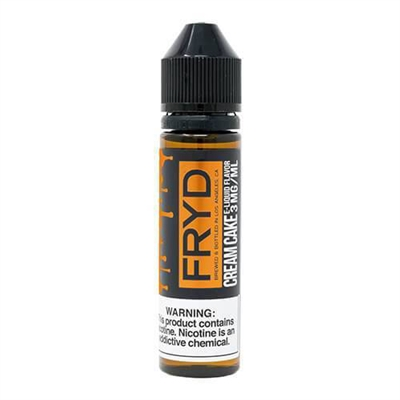 Cream Cake by Fryd E-liquids - 60ml - $7.99  Fried Snack Cake Vape - E Juice Connect