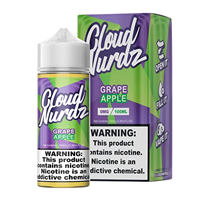 Grape Apple by Cloud Nurdz E-Liquid - 100ml $10.99 - EJuice Connect