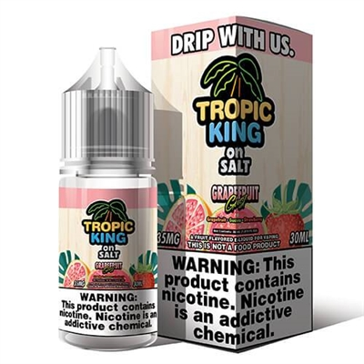 Grapefruit Gust by Tropic King on SALT E-Liquid - 30ml - $10.99 - EJuice Connect