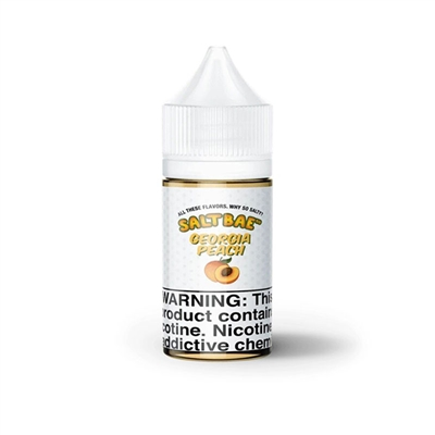 Georgia Peach by Salt Bae 50  E-Liquid - 30mL - Ejuice Connect