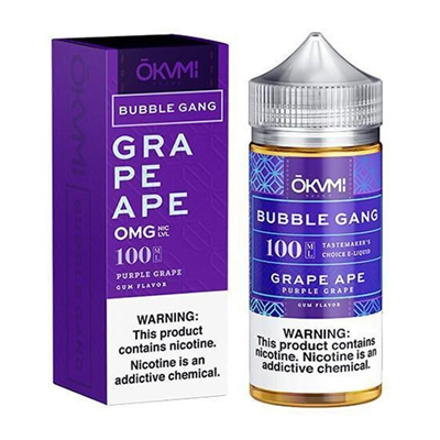 Grape Ape by Bubble Gang E Liquid - 100ml E-Liquid  $10.99 - EJuice Connect