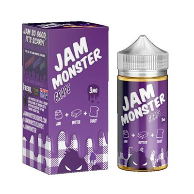 Jam Monster Grape 100mL Vape Liquid $12.99 - EJuice Connect