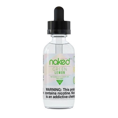 Green Lemon (Sour Sweet) by Naked 100 E-liquid - 60ml - EJuice Connect