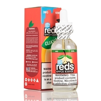 REDS Iced Guava Apple Juice by 7 Daze 60ml - 60ml $9.99  - EJuice Connect