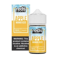 Mango ICED REDS Apple Juice by 7 Daze - 60ml $9.99  - EJuice Connect