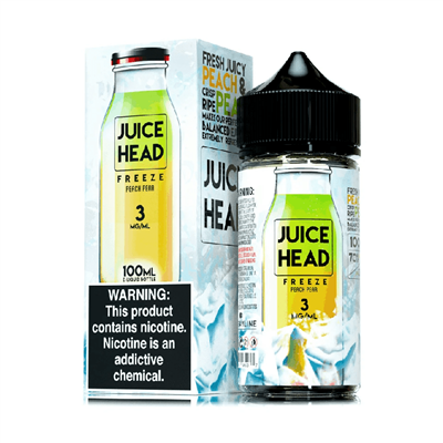 Juice Head FREEZE - Peach Pear E-Liquid 100mL - $11.99 - EJuice Connect