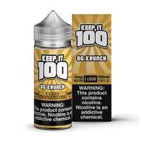 Krunchy Squares by Keep it 100 E-Liquid - 100ml $12.99 Vape Juice - EJuice Connect