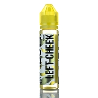 Left Cheek by Banana Butt E Liquid 60mL - $10.99 Banana Cookie Vape - EJuice Connect