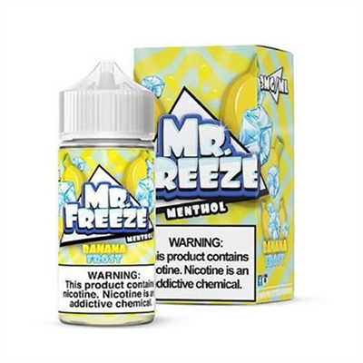 Mr. Freeze Banana Frost E-Liquid - 100ml - $7.99 - Ejuice Connect