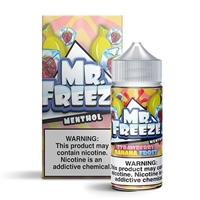 Mr. Freeze Strawberry Banana Frost E-Liquid - 100ml - $7.99 - Ejuice Connect