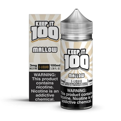 Mallow Man by Keep it 100 E-Liquid - 100ml $12.99 Vape Juice - EJuice Connect