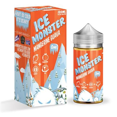 Ice Monster Mangerine Guava by Jam Monster 100ml $12.99 Vape Liquid  - EJuice Connect