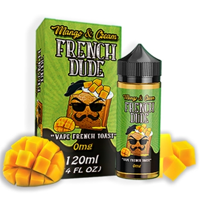 Mango and Cream French Dude by Vape Breakfast Classics 120mll $13.99 - EJuice Connect