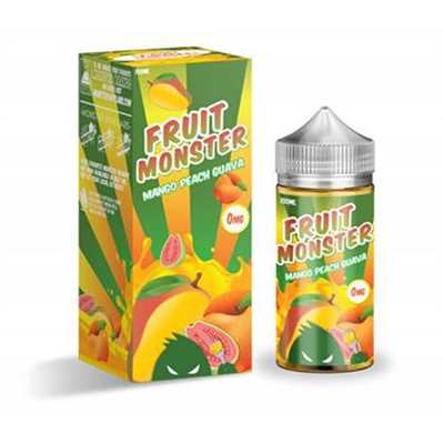 Fruit Monster Mango Peach Guava by Monster Vape Labs - 100ml $10.99 - EJuice Connect