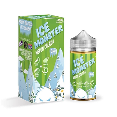 Ice Monster Melon Colada by Jam Monster 100ml $12.99 Vape Liquid  - EJuice Connect