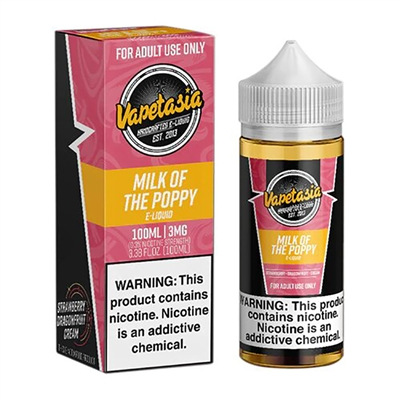 Milk of the Poppy by Vapetasia E-Liquid $13.95 E-Liquid - EJuice Connect