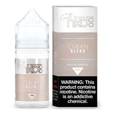 Cuban Bend Tobacco by NKD 100 (Naked 100) Salt Nicotine - $10.99 - EJuice Connect
