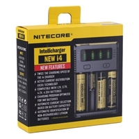 NEWEST Nitecore i4 Intellicharger $18.99 - EJuice Connect