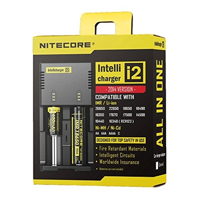 NEWEST Nitecore i2 Intellicharger $11.99 - EJuice Connect