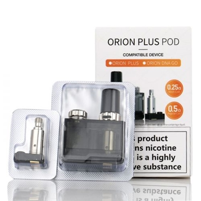 Lost Vape Orion PLUS DNA Pod Replacement Cartridge W/ 2 Coils  -  EJuice Connect