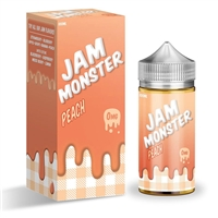 Jam Monster Peach 100mL $10.99  Vape - EJuice Connect