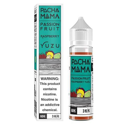 Pachamama Passionfruit Raspberry Yuzi E-Liquid - 60ml - $9.89 | E Juice Connect