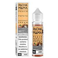 Pachamama - Peach Papaya Coconut Cream E-Liquid - 60ml - $9.89 | EJuice Connect