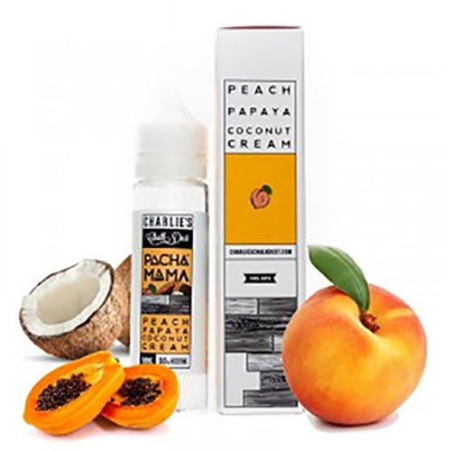 Image result for Charlie's Chalk Dust Pacha Mama Peach Papaya Coconut Cream