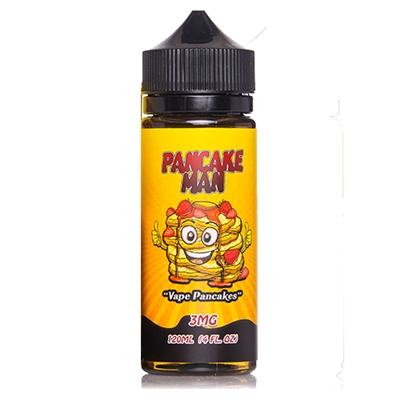 Pancake Man Vape Breakfast Classics 120mL $13.99 E-Liquid - EJuice Connect