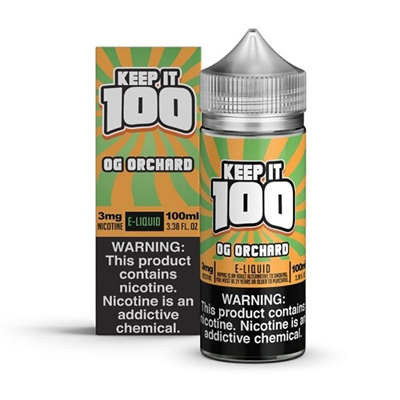 OG Orchard (Peachy Punch) by Keep it 100 E-Liquid - EJuice Connect