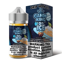 Peachy Rings on Ice by Candy King - 100ml $10.99 Vape E-Liquid - EJuice Connect