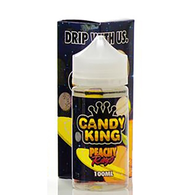 Peachy Rings by Candy King - 100mL $11.99 Vape E-Liquid - EJuice Connect