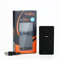 Podbay Power Bank 1500mAh Charger (JUUL Compatible) - EJuice Connect