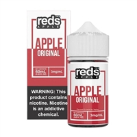 REDS Apple Juice by 7 Daze - 60mL Apple Juice Vape $11.99  - EJuice Connect