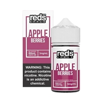 REDS Berries Apple Juice by 7 Daze - 60mL Grape Apple Juice Vape $10.49  - EJuice Connect