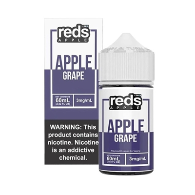 REDS Grape Apple Juice by 7 Daze - 60mL Grape Apple Juice Vape $11.99  - EJuice Connect