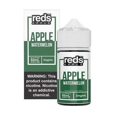 REDS WATERMELON Apple Juice 7 Daze E Liquid 60ml $11.99 Vape - EJuice Connect